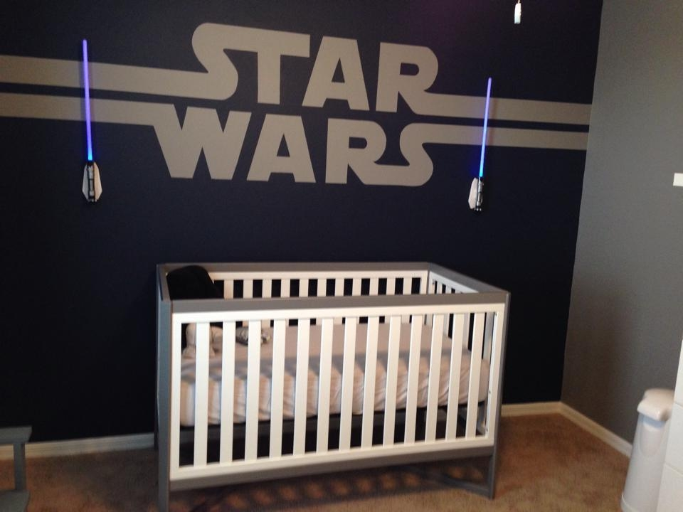 Diy Star Wars Baby Nursery Designgreg Pabst | Disney Every Day Within Diy Star Wars Wall Art (Image 14 of 20)
