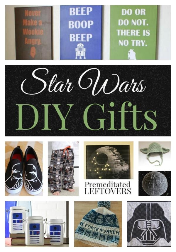 Diy Star Wars Gifts – Premeditated Leftovers With Diy Star Wars Wall Art (Image 16 of 20)