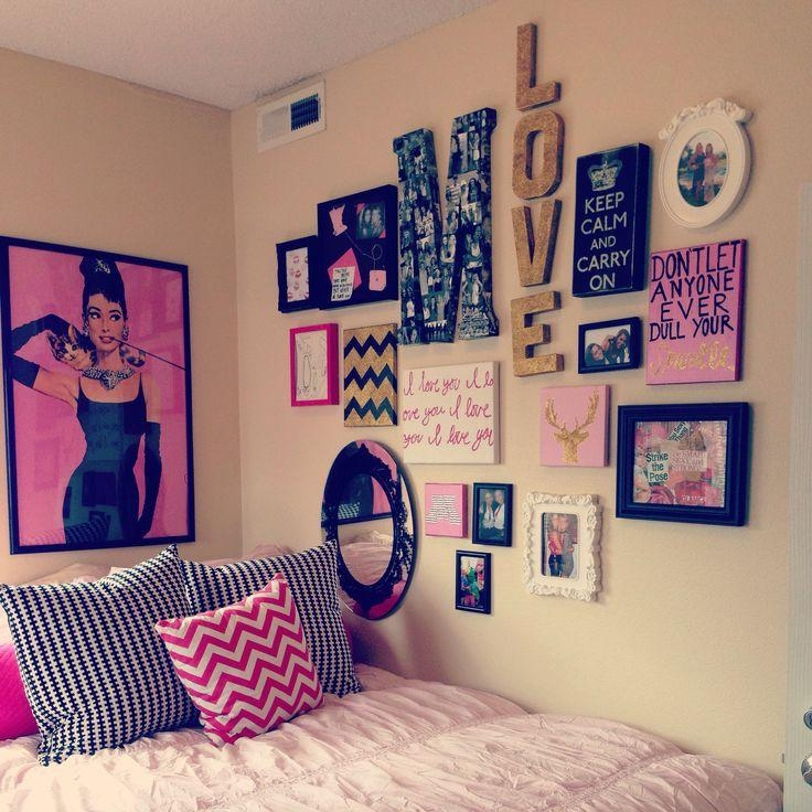 Dorm Room Wall Decorating Ideas Photo Of Nifty College Dorm Room Intended For Wall Art For College Dorms (View 2 of 20)