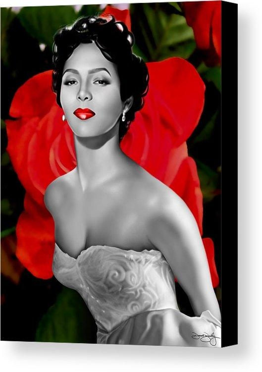 Dorothy Dandridge Canvas Print / Canvas Artdavonte Bailey Pertaining To Dorothy Dandridge Wall Art (Image 14 of 20)