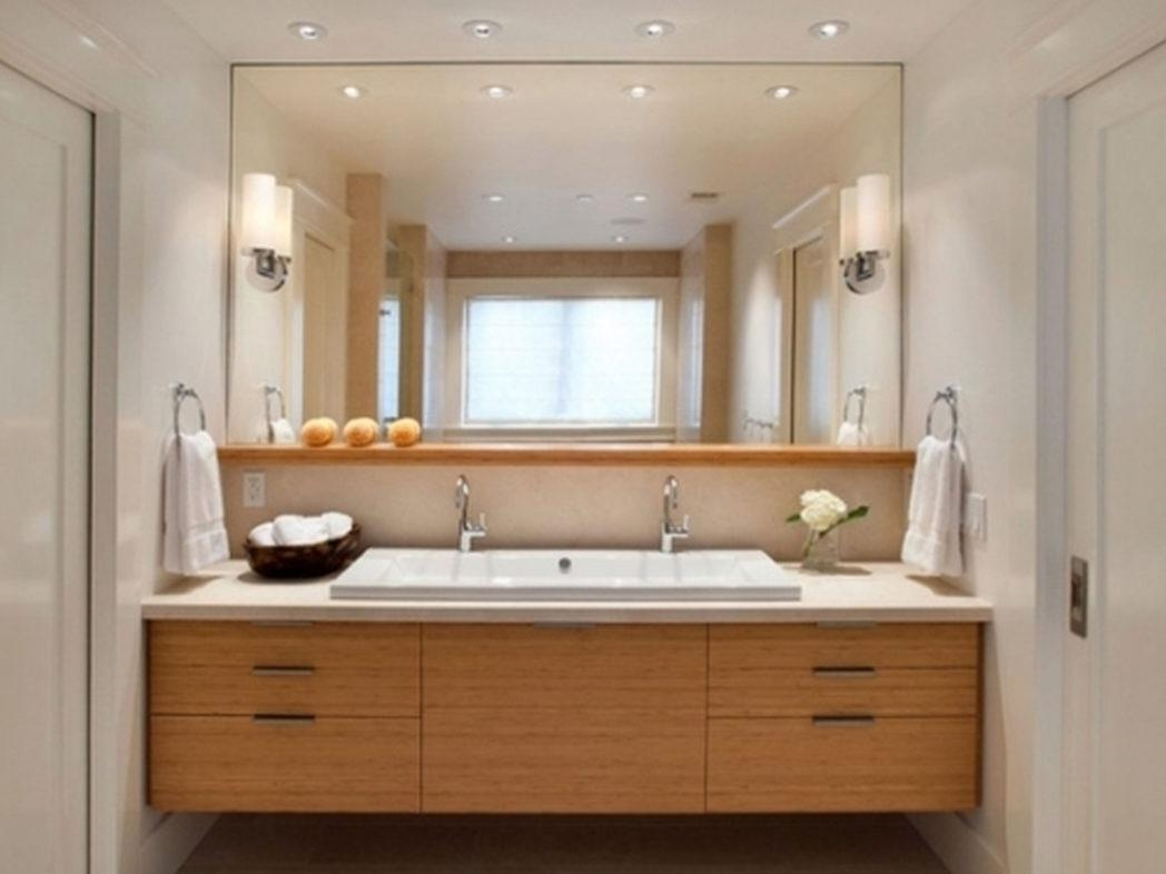 Double Vanity Mirrors For Bathroom | Bathroom Decoration With Regard To Double Vanity Bathroom Mirrors (View 13 of 20)
