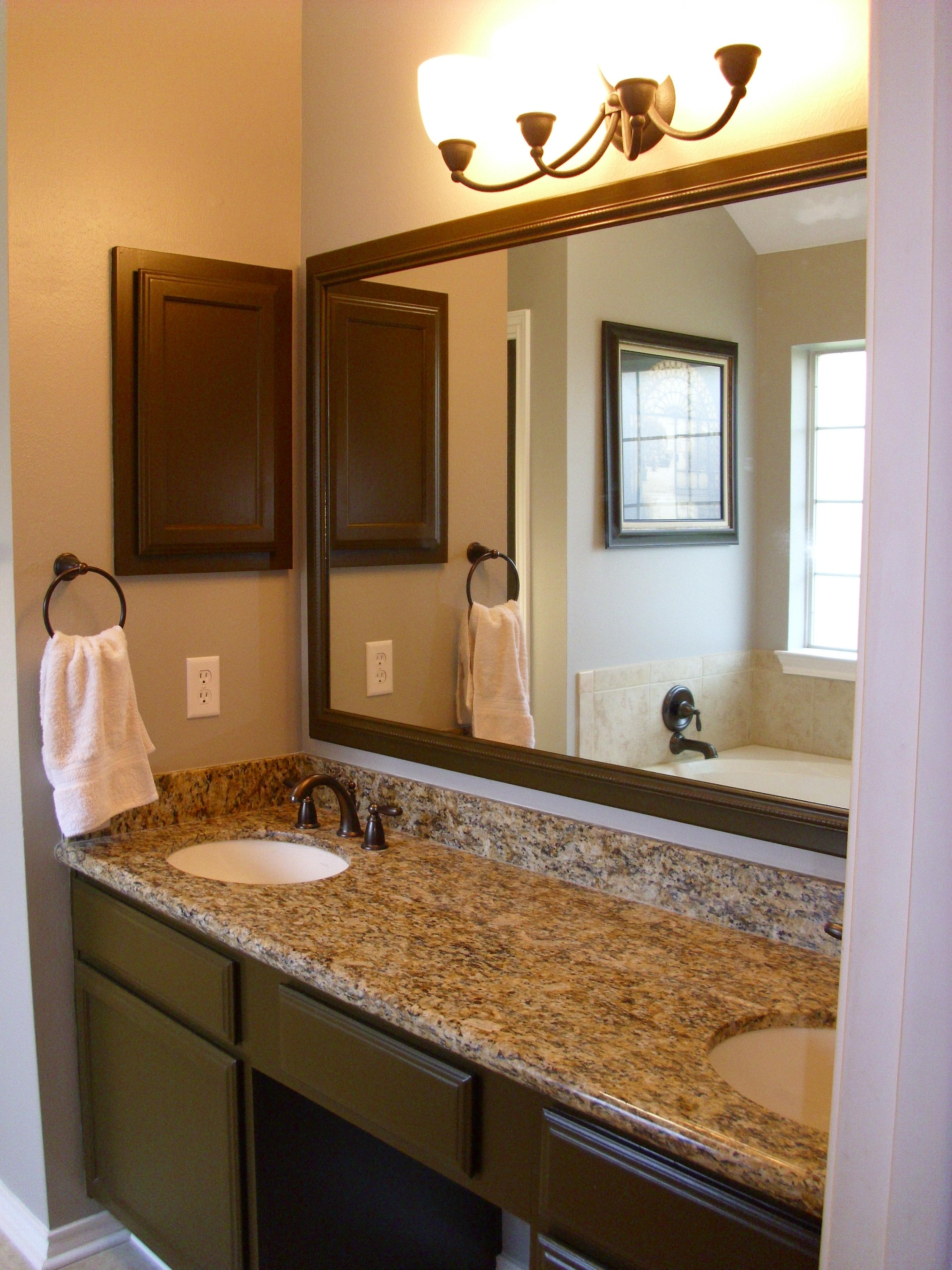 Double Vanity Mirrors For Bathroom Collection With Picture With Double Vanity Bathroom Mirrors (View 15 of 20)