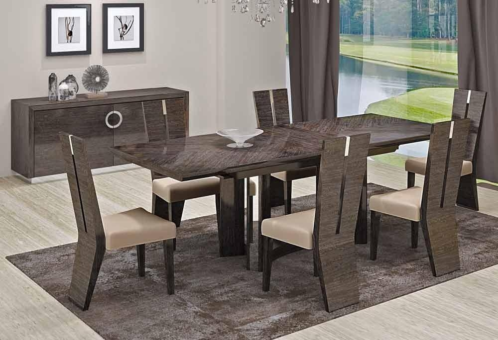 Download Modern Dining Room Table Sets | Gen4Congress Intended For Most Recent Modern Dining Room Furniture (Image 14 of 20)