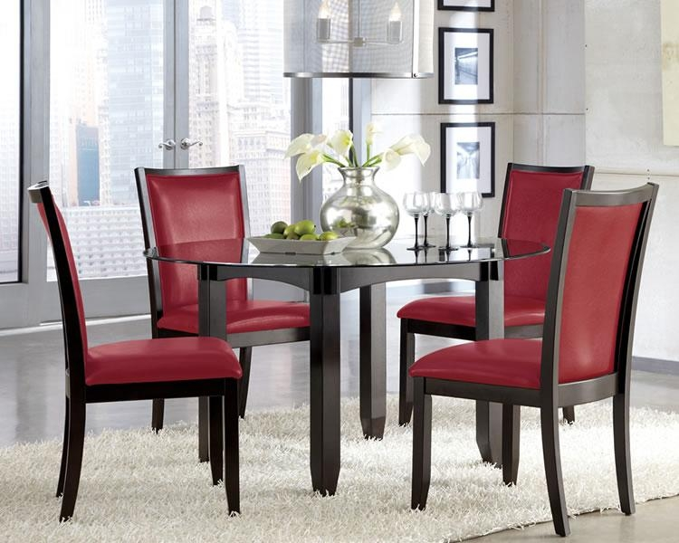 Download Red Upholstered Dining Room Chairs | Gen4Congress Pertaining To Most Up To Date Red Dining Chairs (View 4 of 20)