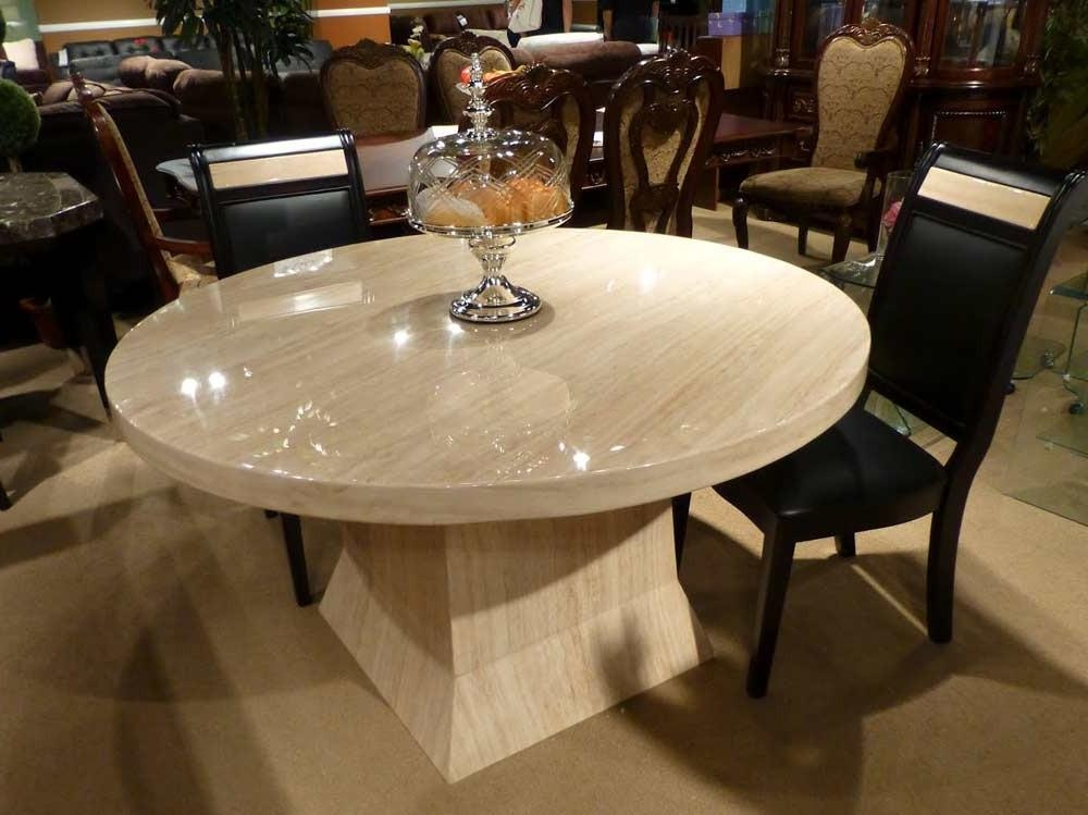 Download Round Stone Dining Table | Home Intercine Within Current Stone Dining Tables (Image 7 of 20)