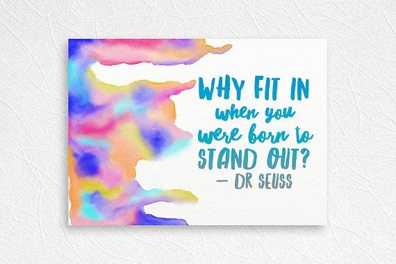 Dr Seuss Wall Art Dr Seuss Quote Art Inspirational Canvas Within Dr Seuss  Canvas Wall Art