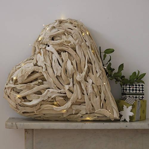 Driftwood Heart Wall Art – Duashadi Intended For Driftwood Heart Wall Art (Image 7 of 20)