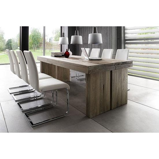 Dublin 8 Seater Dining Table In 220Cm With Lotte Dining With Regard To Recent 8 Seater Dining Tables And Chairs (View 11 of 20)
