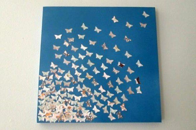 Easy Diy Wall Art | Canvas Factory Pertaining To Diy Origami Wall Art (Image 14 of 20)