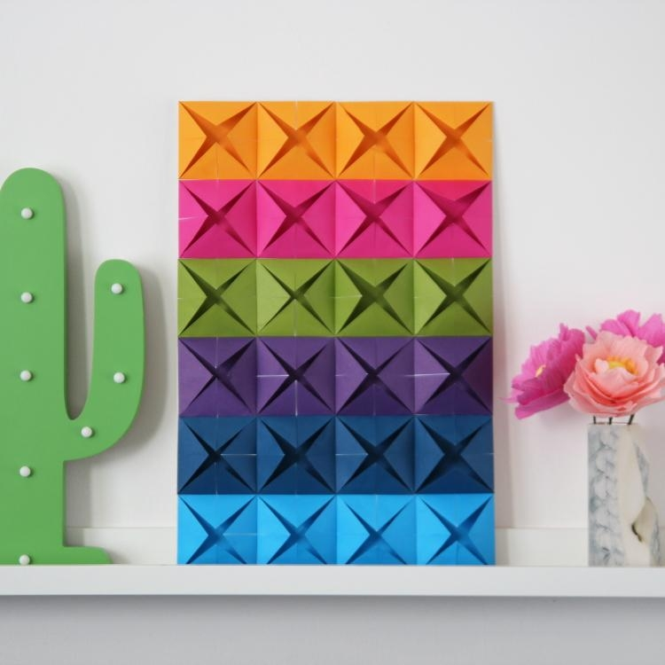 Easy Origami Wall Art (Image 15 of 20)