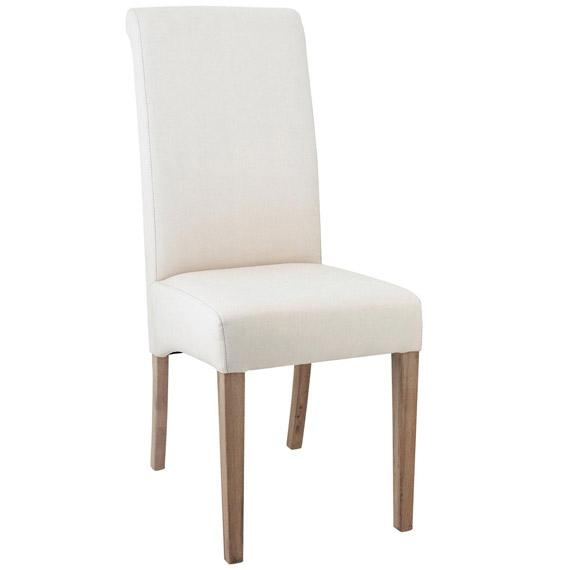 Echo High Back Dining Chair, Oak Legs – Oka In Most Current High Back Dining Chairs (Image 7 of 20)