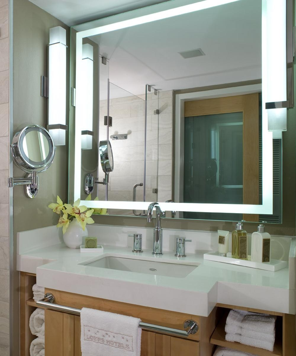 Electric Mirror – Lighted Mirror And Mirror Tv Manufacturer Throughout Led Lighted Mirrors (Image 11 of 20)
