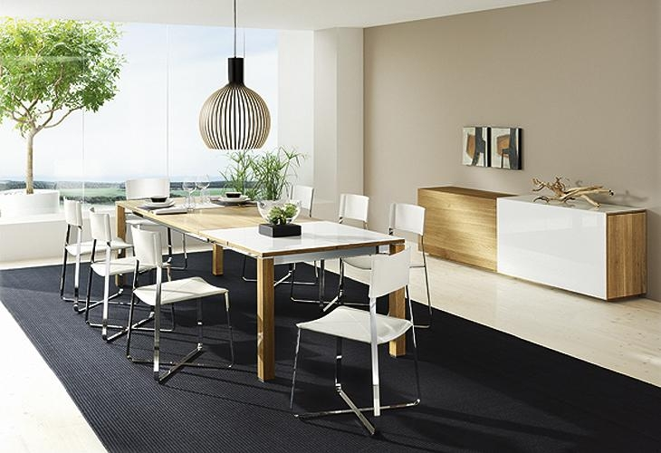 Elegant Contemporary Dining Room Table — Contemporary Furniture Inside Most Popular Contemporary Dining Furniture (Image 16 of 20)