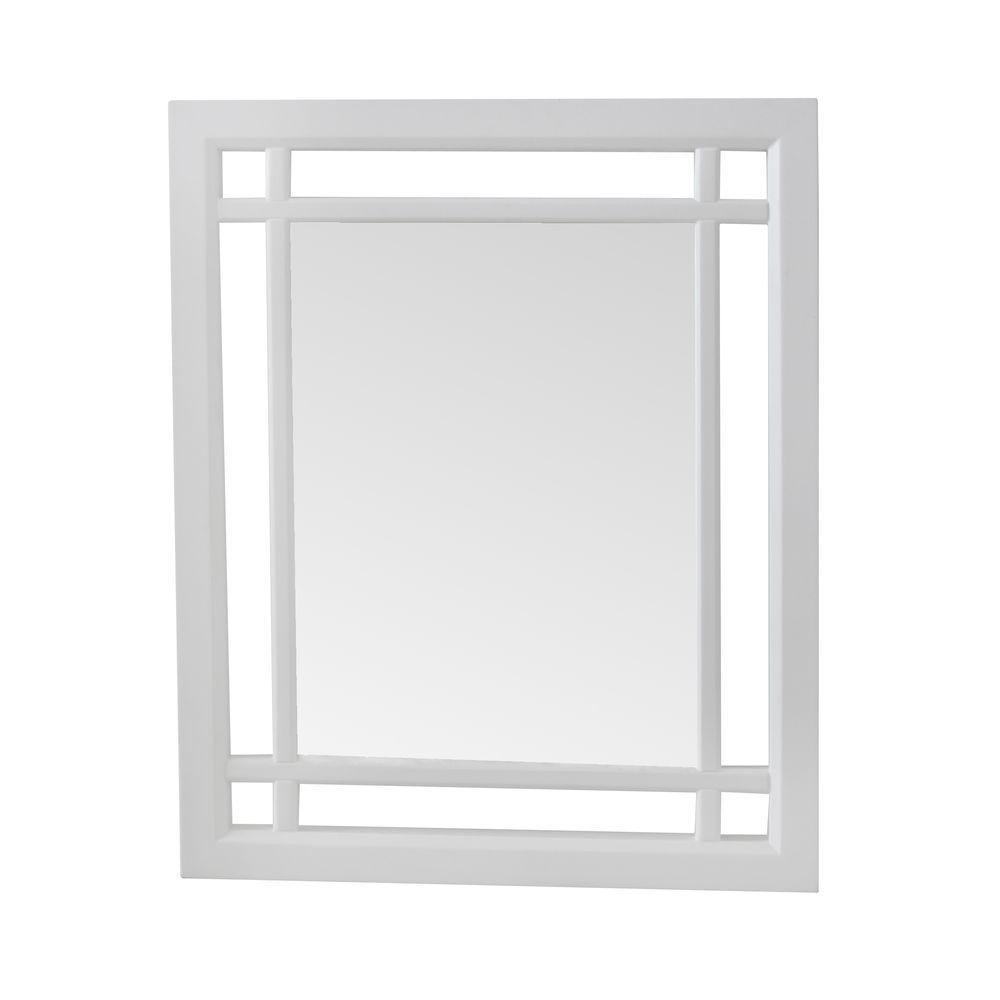 Elegant Home Fashions Albion 24 In. X 20 In. Framed Wall Mirror In Inside No Frame Wall Mirrors (Photo 11 of 20)