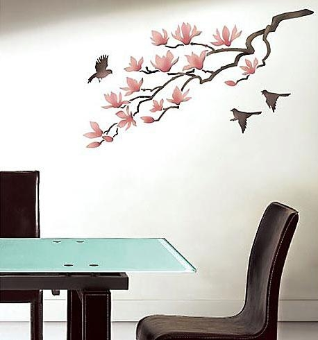 Elegant Stencils For Walls (View 3 of 20)