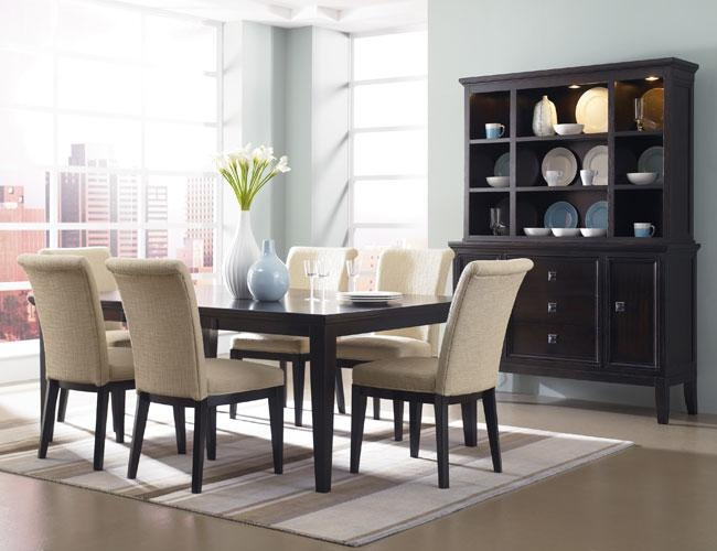 Elegant Style In Contemporary Dining Room Sets Regarding 2017 Modern Dining Room Furniture (Image 16 of 20)