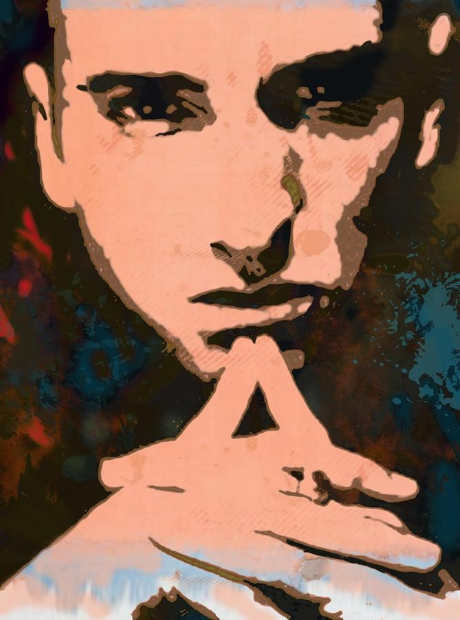 Eminem – Stylised Pop Art Poster Drawingkim Wang Pertaining To Eminem Wall Art (Image 8 of 20)