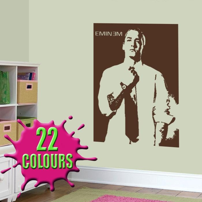 Eminem Wall Stickers & Decals With Eminem Wall Art (Image 13 of 20)