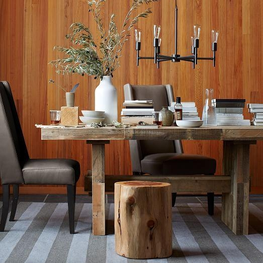 Emmerson® Reclaimed Wood Dining Table | West Elm Regarding Latest Wood Dining Tables (Image 13 of 20)