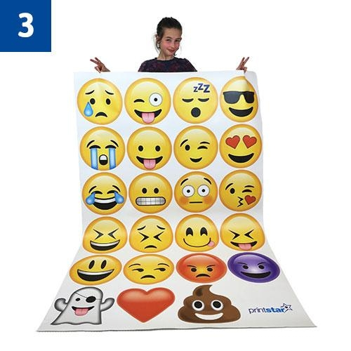 Emoji Wall Art | Printed Products | Print Star Throughout Emoji Wall Art (View 9 of 20)