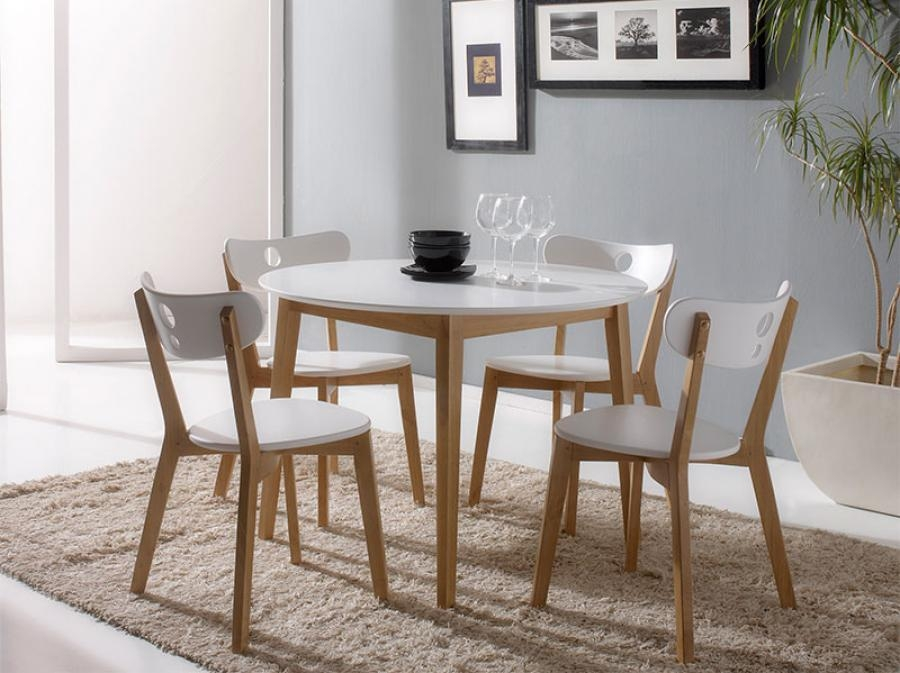 Enchanting Round Oak Dining Table And 4 Chairs 68 On Diy Dining Regarding Most Up To Date Round Oak Dining Tables And 4 Chairs (View 6 of 20)