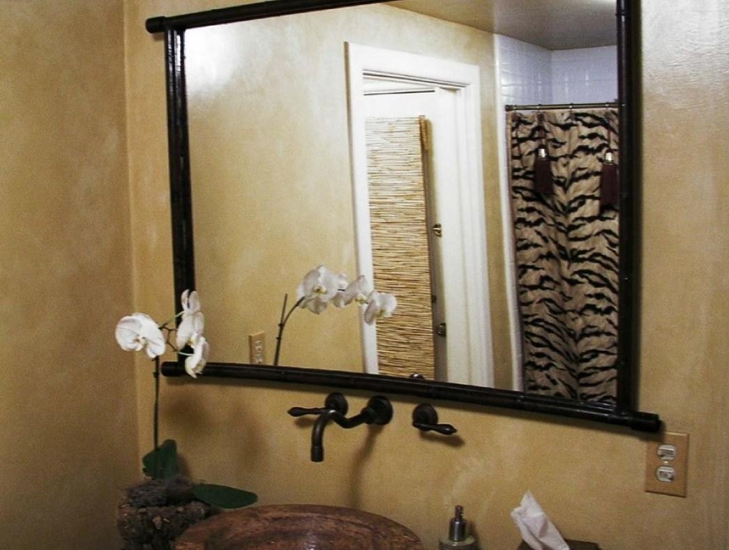 Endearing Cheap Wall Mirrors For Living Room Tags : Living Room In Beech Wood Framed Mirrors (Image 3 of 20)