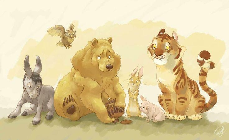 Epbot: June Art Roundup: Wild Things, Sailor Moon, 80's Cuteness For Classic Pooh Art (Image 16 of 20)