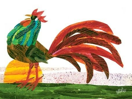 Eric Carle's Rooster Canvas Wall Artoopsy Daisy In Eric Carle Wall Art (View 6 of 20)