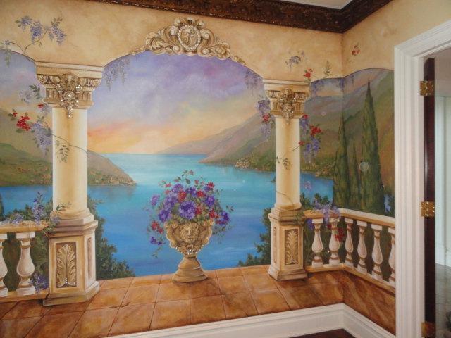Estimate For Custom Mural Mediterranean Mural Decorative Inside Italian Art Wall Murals (Image 13 of 20)