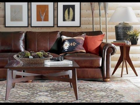 Ethan Allen Leather Sofa – Youtube Throughout Ethan Allen Chesterfield Sofas (Image 11 of 20)