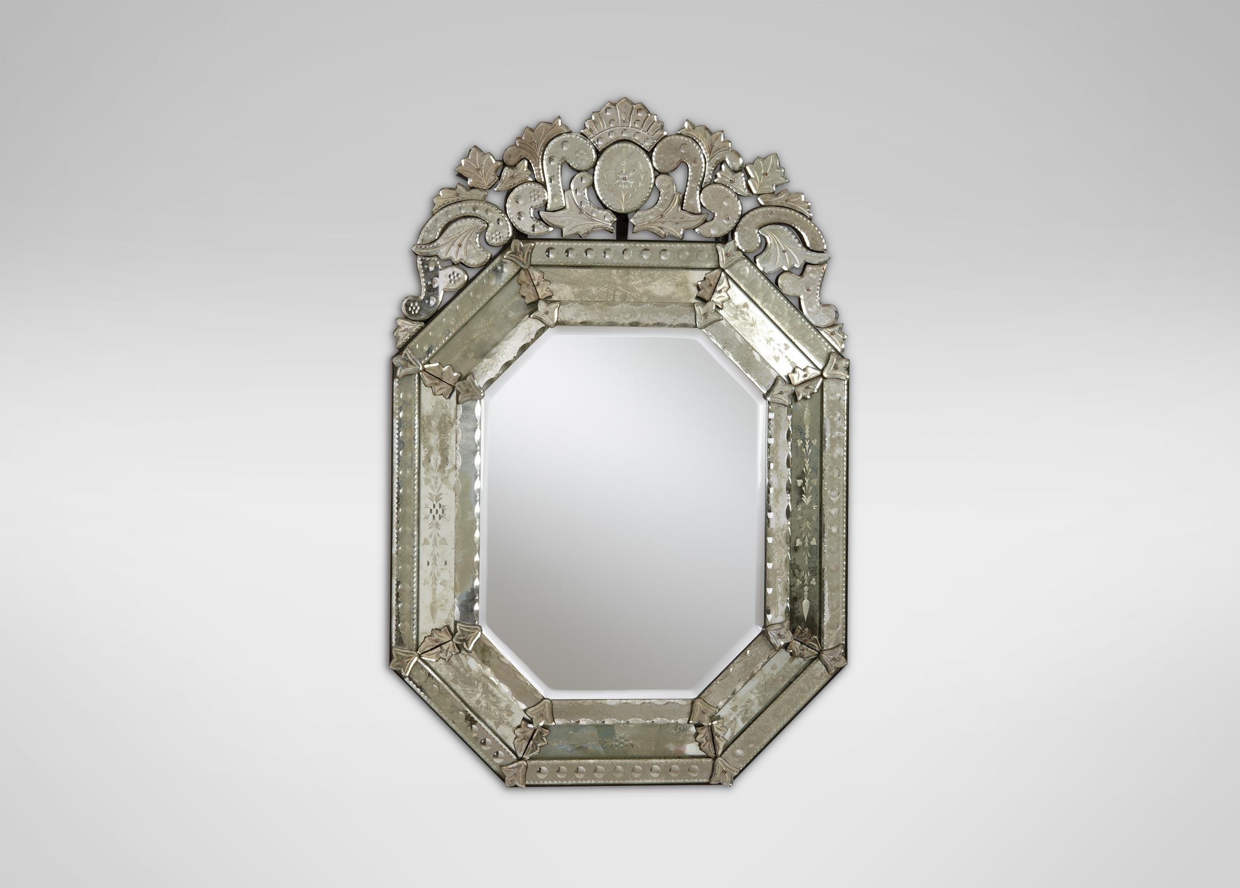 Ethan Allen Venetian Mirror 07 4055 – Classical Addiction Beaux In Small Diamond Shaped Mirrors (Image 6 of 20)