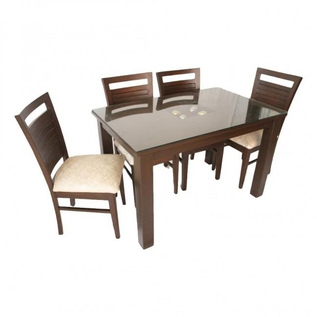 Even – Hudson Wooden Teak Wood Dining Set – Woodys Furniture With Most Popular Hudson Dining Tables And Chairs (View 12 of 20)