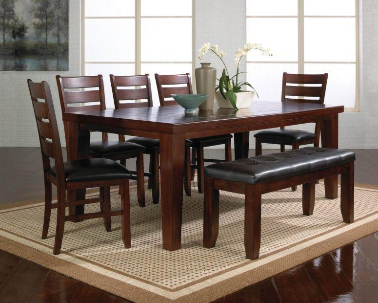 Excellent Dark Wood Dining Table And 6 Chairs 59 For Your Discount Within 2018 Dark Wood Dining Tables And 6 Chairs (Image 8 of 20)