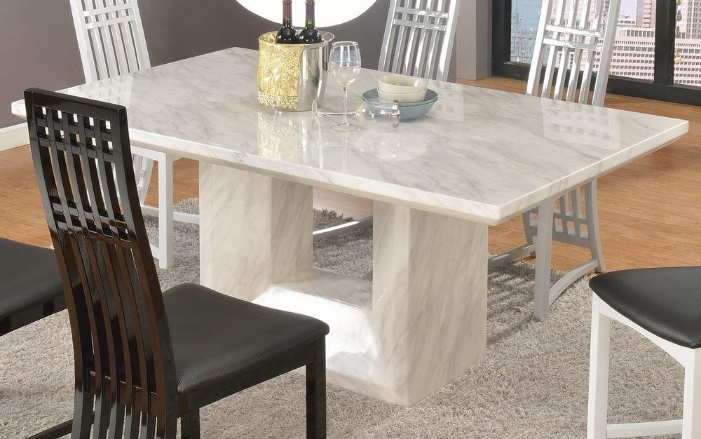 Marble Effect Dining Tables And Chairs Dining Room Ideas