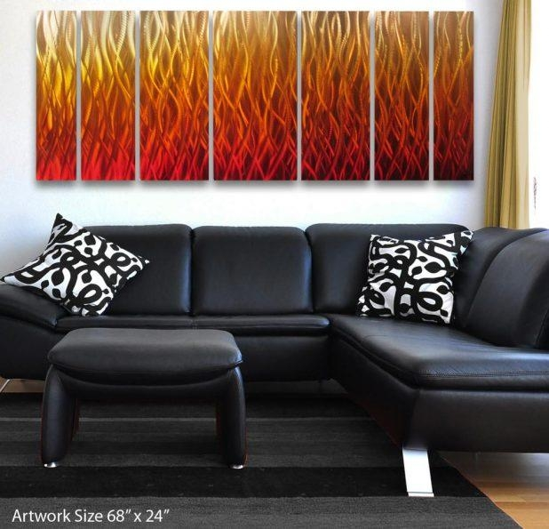 Excellent Large Modern Metal Wall Art Canvas Art Living Room Large Pertaining To Large Modern Wall Art (Image 7 of 20)