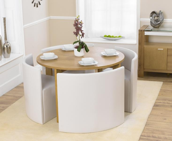 Exquisite Decoration Small Modern Dining Table Extraordinary With Regard To Compact Dining Tables And Chairs (Image 12 of 20)