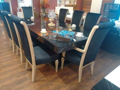 Exquisite Design 8 Seat Dining Table Set Crafty Dining Table With Latest 8 Seater Dining Tables And Chairs (View 17 of 20)