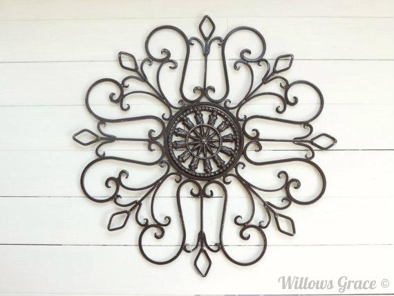 Exquisite Ideas Metal Wall Medallion Valuable Design Metal Wall With Outdoor Medallion Wall Art (Image 7 of 20)