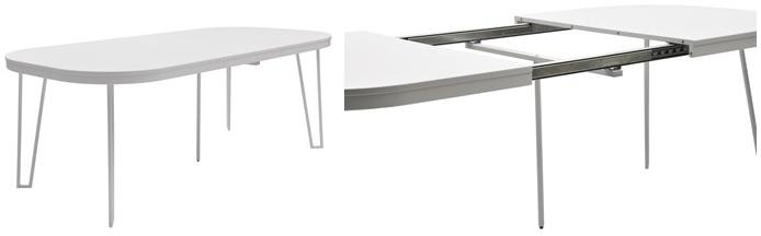 Extendable Dining Tables: From Simple Table Into A Great Table Inside Latest White Oval Extending Dining Tables (Image 10 of 20)