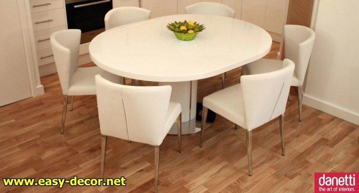 Extendable Round Dining Table Singapore Scroll To Next Item Round With Regard To Most Recent Round Extendable Dining Tables And Chairs (Image 11 of 20)