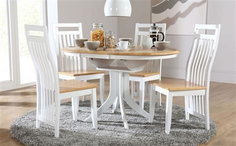 Extending Dining Sets | Furniture Choice Intended For Most Current Round Extendable Dining Tables And Chairs (Image 12 of 20)