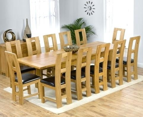 Extending Dining Table And 8 Chairs – Mitventures.co With 2018 Oak Extending Dining Tables And 8 Chairs (Photo 19 of 20)