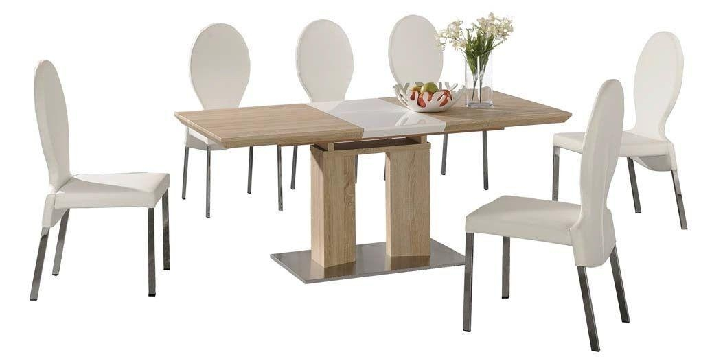 Extending Dining Table And Chairs Best 16 Townhouse Oval Extending With Regard To Extending Dining Tables Sets (Image 18 of 20)