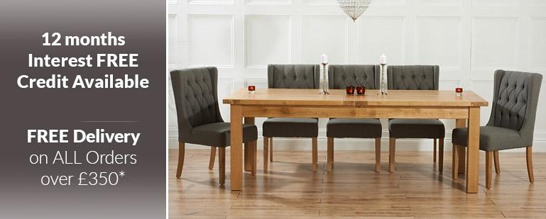 Extending Dining Tables | Oak Furniture Superstore Regarding Newest Oak Extending Dining Sets (Image 4 of 20)
