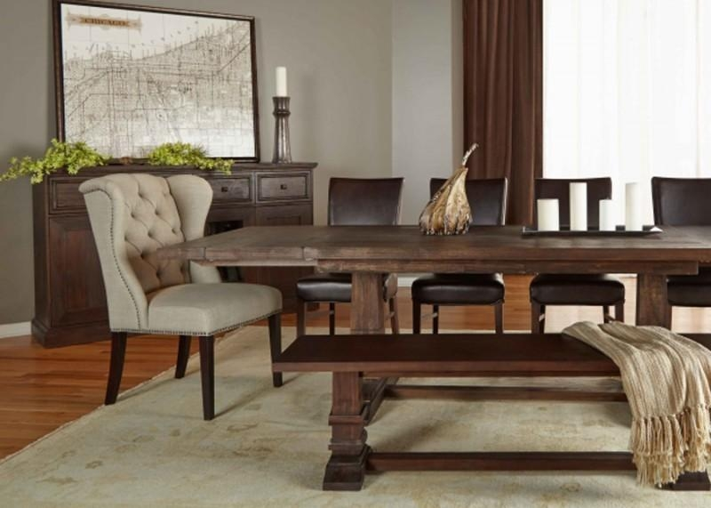 Extension Rustic Java Dining Table For Most Recent Java Dining Tables (Image 12 of 20)