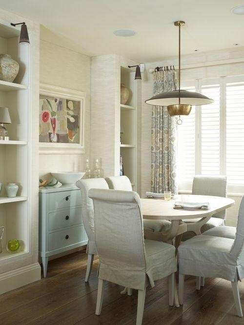 Fabric Covered Dining Chairs | Houzz Intended For Most Popular Fabric Covered Dining Chairs (View 19 of 20)