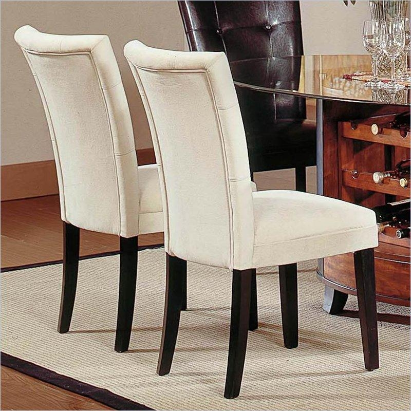 Fabric Covered Dining Room Chairs – Large And Beautiful Photos For Current Fabric Dining Room Chairs (Image 12 of 20)