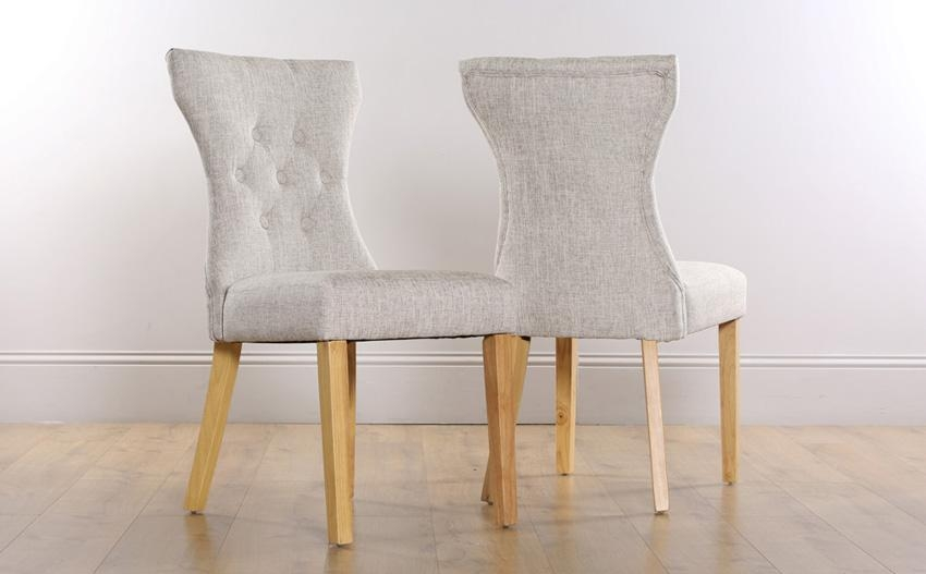 Fabric Dining Chairs – Interior Design Within Most Recently Released Oak Fabric Dining Chairs (Image 11 of 20)