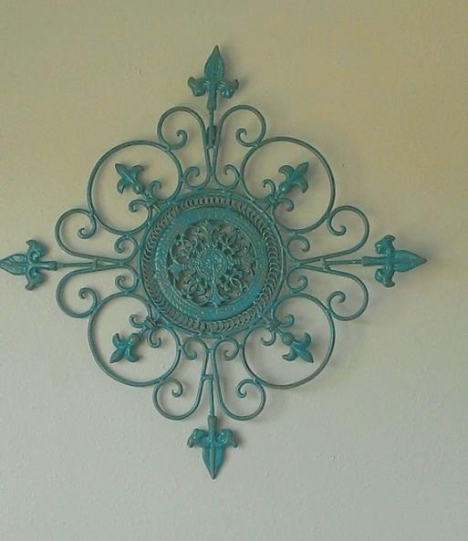 Fabulous Teal Metal Wall Art | Best Office Chair Blog's With Regard To Teal Metal Wall Art (Image 1 of 20)