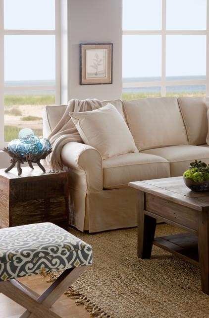 Fairbanks Slipcover Sofa – Traditional – Living Room – Boston – Inside Boston Interiors Sofas (View 2 of 20)
